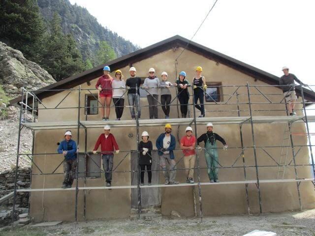 chantier adulte bénévole vallée des merveilles