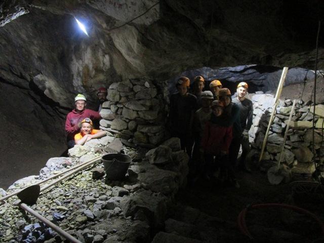 chantier patrimoine fouille mine