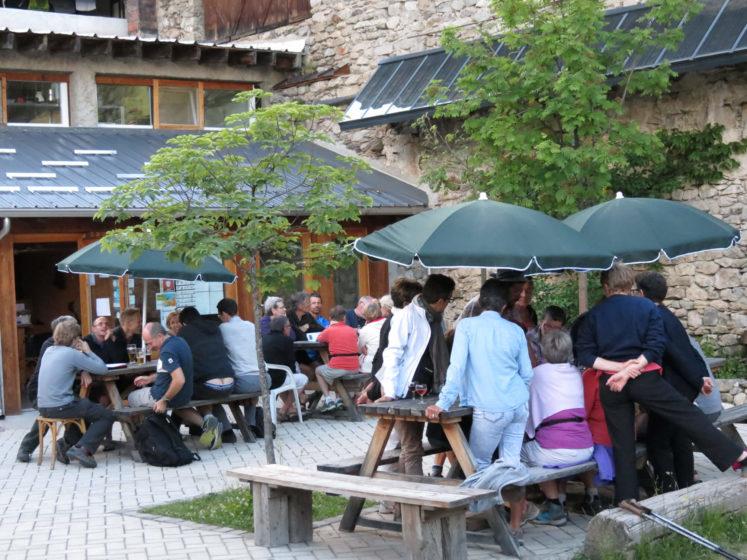 bar bistrot refuge vallée des merveilles